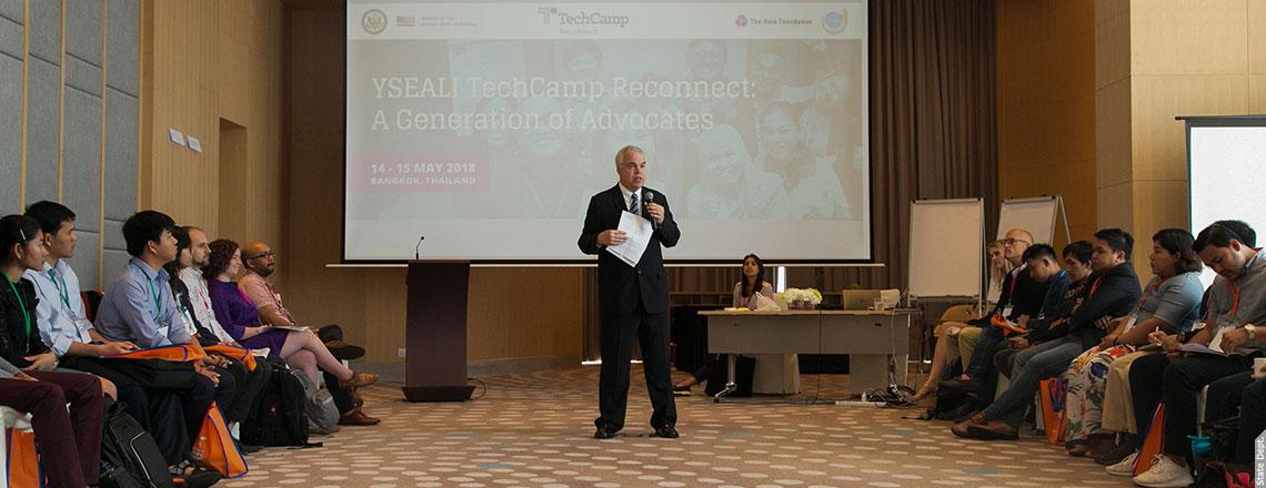 โครงการ YSEALI TechCamp Reconnect Workshop