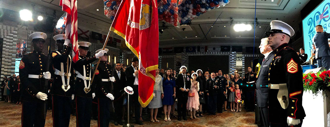 U.S. Independence Day Reception 2018