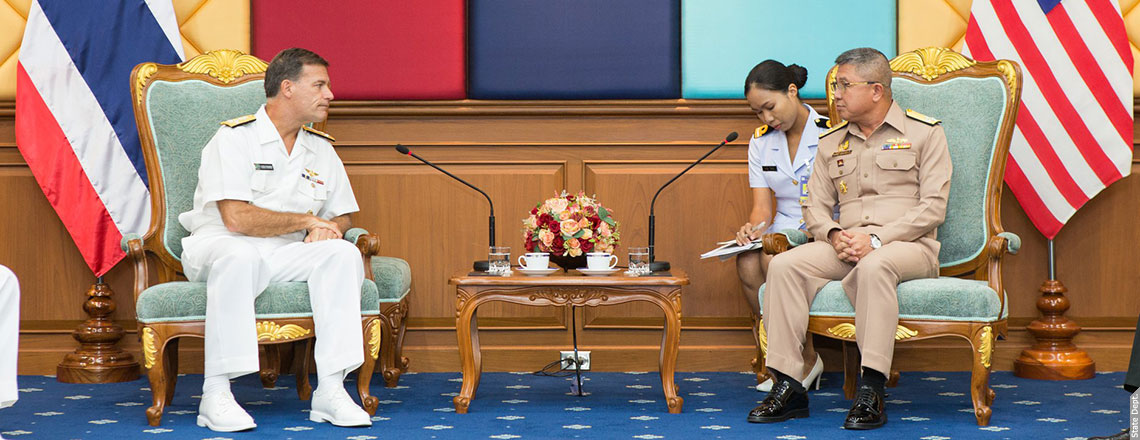 Admiral John Aquilino, Commander, U.S. Pacific Fleet, visited Thailand