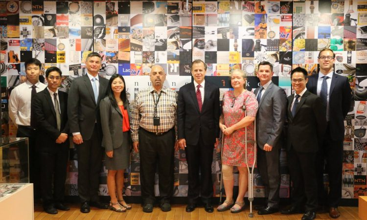 Ambassador Davies visited U.S. Law Firm Tilleke & Gibbins