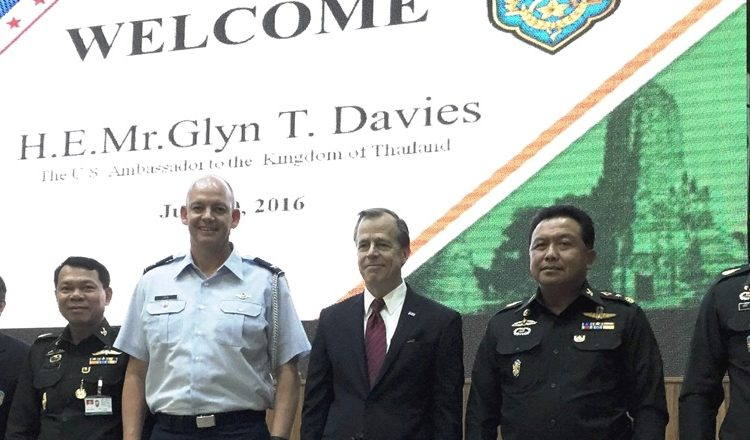Ambassador Glyn T. Davies visited the National Defense College (NDC)