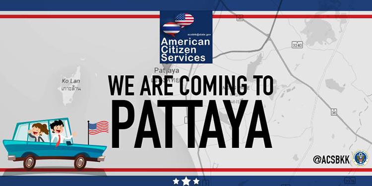 Consular Outreach Pattaya US Embassy Consulate In Thailand - Us embassy bangkok map
