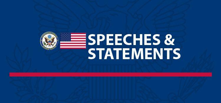 Speeches & Statements