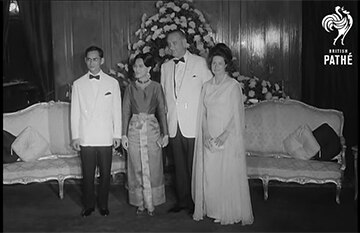 The 1st U.S. President visit to Thailand: U.S. President Johnson
