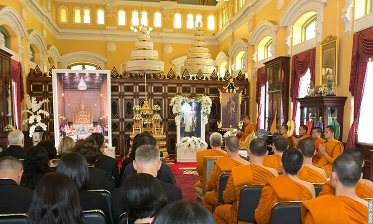 Mourning Ceremony Marking the 50th day of the passing of His Majesty King Bhumibol Adulyadej