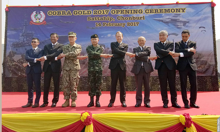 Cobra Gold 2017 Opening Ceremony