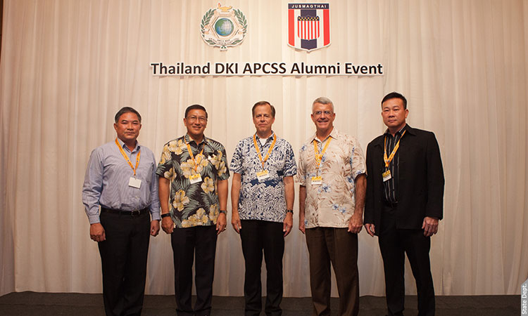 Alumni Reception of the Daniel K. Inouye Asia-Pacific Center for Security Studies (APCSS)