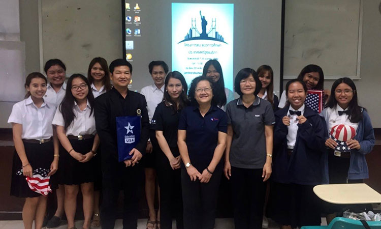 EducationUSA's Road Trip to Nakhon Pathom and Kanchanaburi