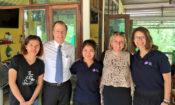 Ambassador Davies visited Mukdahan